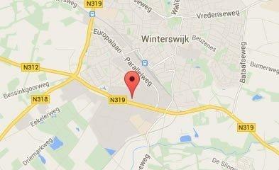 google map Mulder recycling locatie