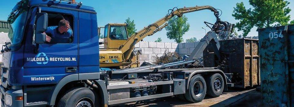 Mulder recycling Winterswijk ijzerhandel