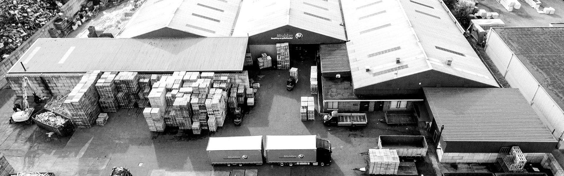 Mulder Recycling luchtfoto bedrijf
