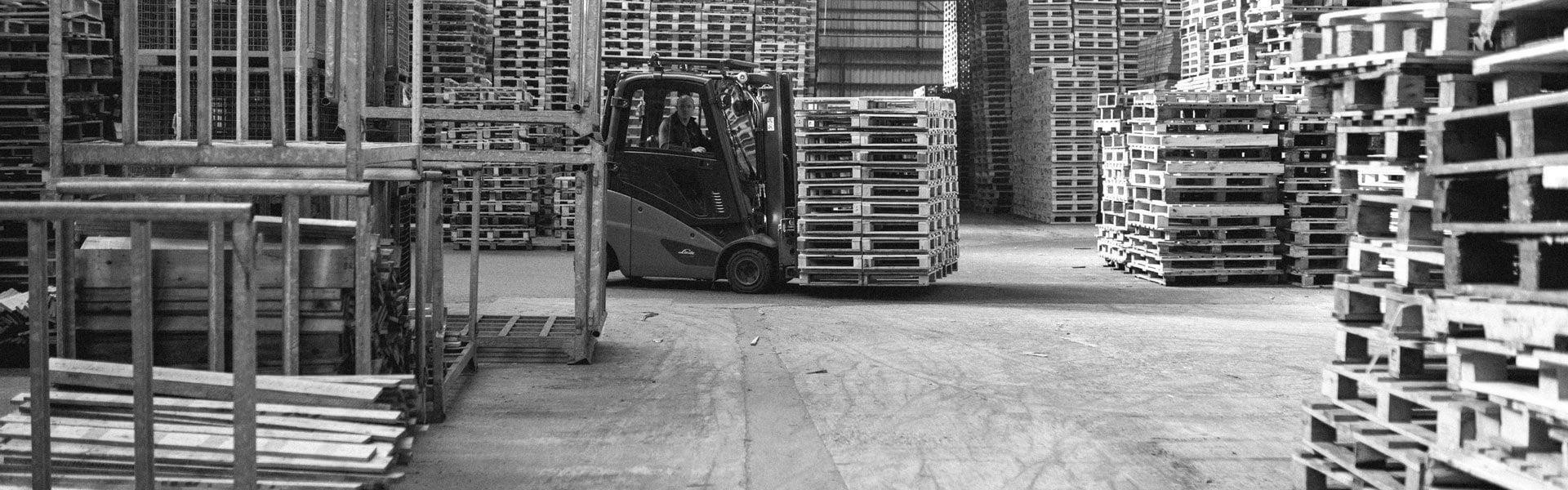 Mulder Recycling pallethandel stapels pallets